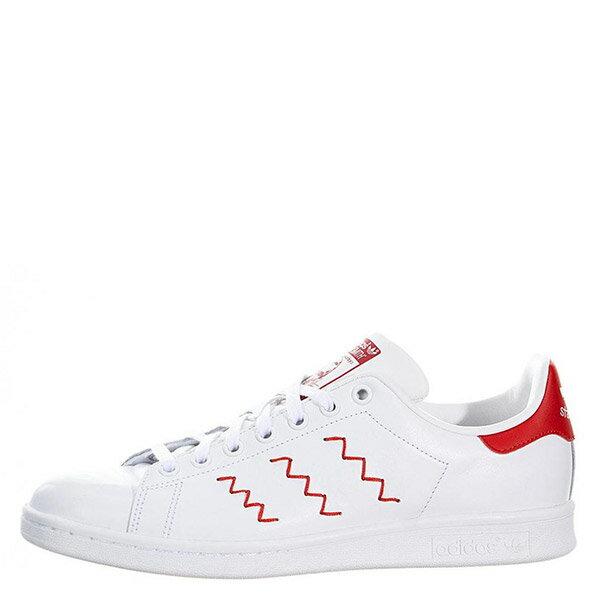 【EST S】Adidas Stan Smith Zig-Zag S75138 史密斯 繡線鋸齒 紅尾 G1026