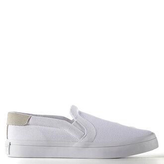 【EST S】Adidas Courtvantage Slip On S75172 帆布 懶人鞋 女鞋 白 G1018