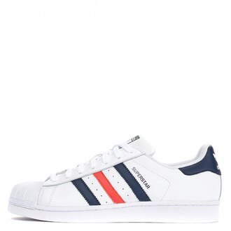【EST S】Adidas Original Superstar S79208 貝殼頭 白藍紅 G1028