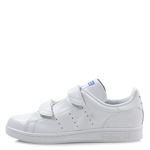 【EST S】Adidas Stan Smith Fast S80134 魔鬼氈 藍標 全白 G1028