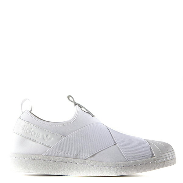 【EST S】Adidas Superstar Slip On S81338 繃帶鞋 全白 G1028