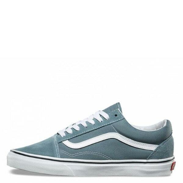 【EST S】Vans Old Skool 72010568 基本款 滑板鞋 男鞋 水藍 白 H0809