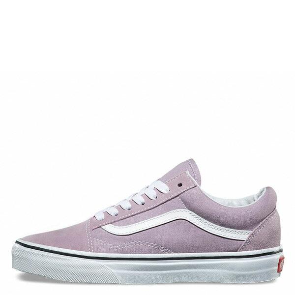 【EST S】Vans Old Skool 72010571 基本款 滑板鞋 女鞋 粉紫 白 H0809