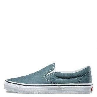 【EST S】Vans Classic Slip-On 72010833 帆布 經典 懶人鞋 水藍 男鞋 H0809