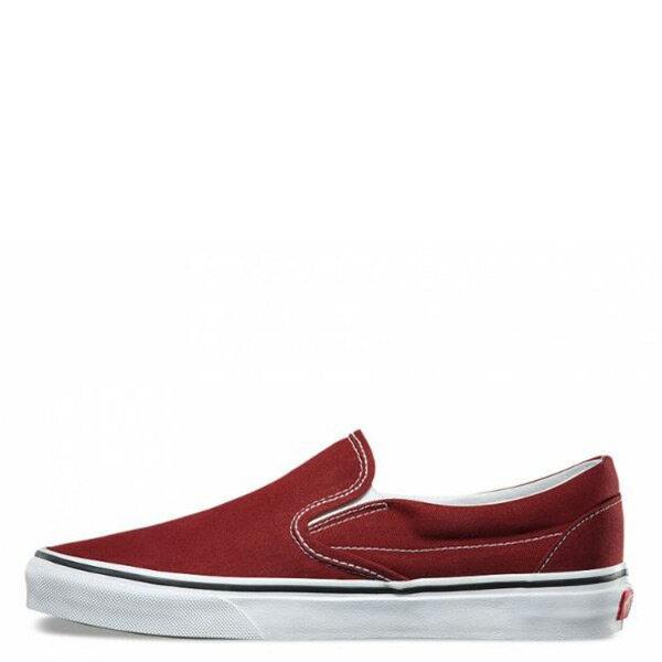 【EST S】Vans Classic Slip-On 72010834 帆布 經典 懶人鞋 酒紅 男鞋 H0809