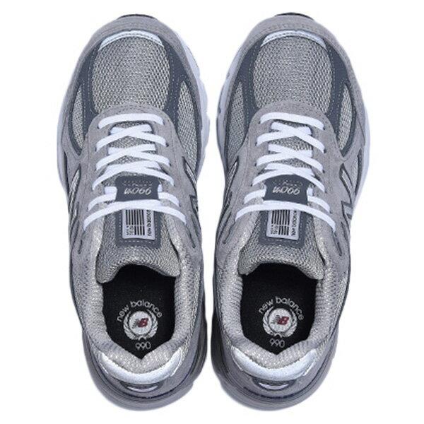 【EST S】New Balance W990GL4 美國製 高機能 總統慢跑鞋 女鞋 灰 G1018 2