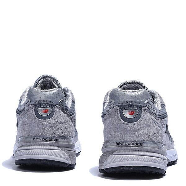【EST S】New Balance W990GL4 美國製 高機能 總統慢跑鞋 女鞋 灰 G1018 3