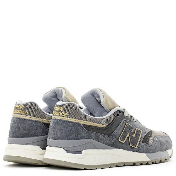 【EST S】New Balance WL997HWA 奶油底 英倫風 復古 慢跑鞋 女鞋 麻灰格紋 G1018 2
