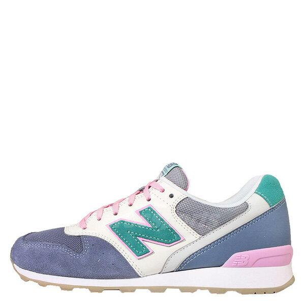 【EST S】New Balance WR996HL 拚色 麂皮 復古 慢跑鞋 女鞋 藍 G1018 0