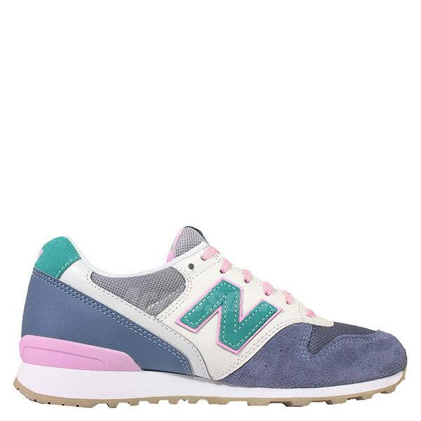 【EST S】New Balance WR996HL 拚色 麂皮 復古 慢跑鞋 女鞋 藍 G1018 1