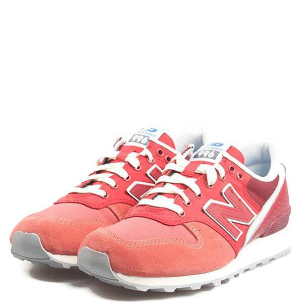 【EST S】New Balance WR996IA 麂皮 反光 復古 慢跑鞋 女鞋 紅 G1018 1