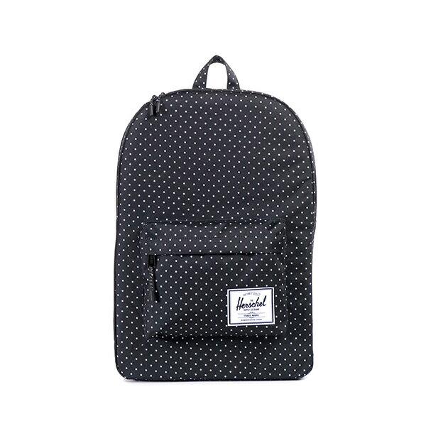 【EST】HERSCHEL CLASSIC 電腦包 後背包 點點 黑 [HS-0001-614] F0810