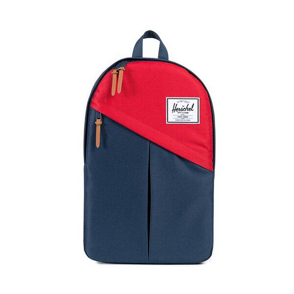 【EST】HERSCHEL PARKER 斜拉鍊 15吋電腦包 後背包 藍紅 [HS-0003-018] F0810 0
