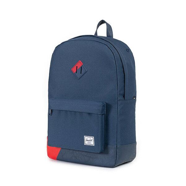 【EST】Herschel Heritage 豬鼻 15吋電腦包 後背包 拚色 藍紅 [HS-0007-764] F0810 2