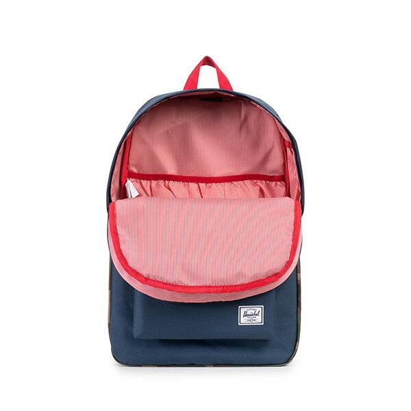 【EST】HERSCHEL HERITAGE 豬鼻 15吋電腦包 後背包 迷彩 藍紅 [HS-0007-875] F1019 1