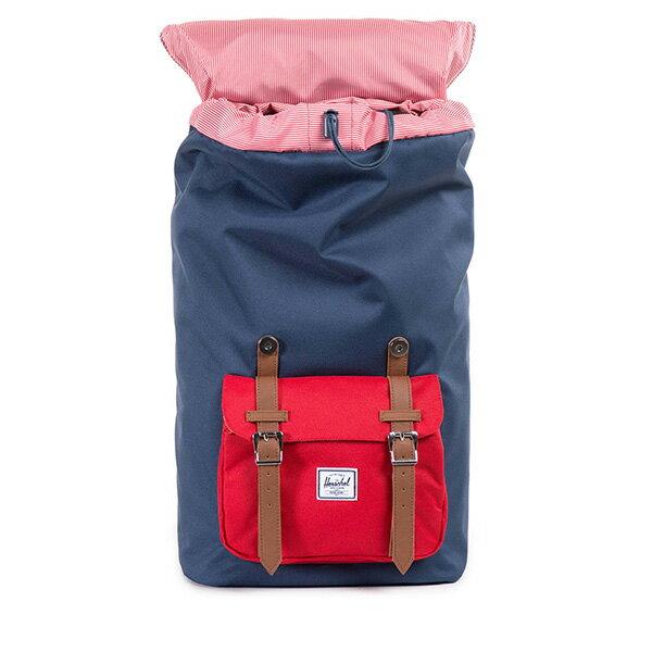 【EST】HERSCHEL LITTLE AMERICA 15吋電腦包 後背包 藍紅 [HS-0014-018] F0810 1