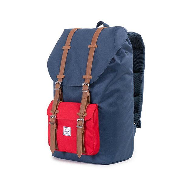 【EST】HERSCHEL LITTLE AMERICA 15吋電腦包 後背包 藍紅 [HS-0014-018] F0810 2