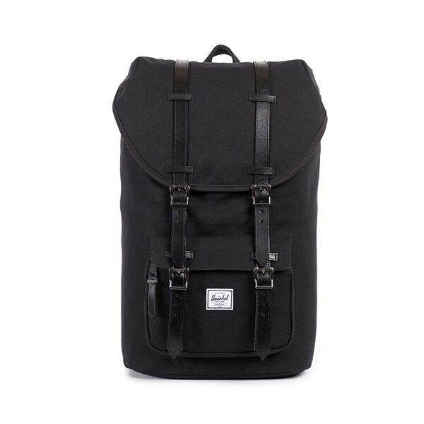 【EST】HERSCHEL LITTLE AMERICA 15吋電腦包 後背包 帆布 黑 [HS-0014-562] F0810 0