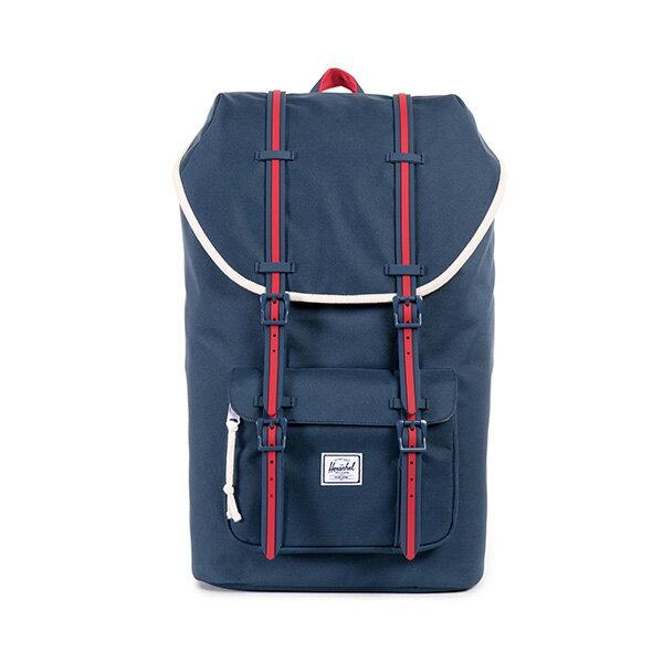 【EST】HERSCHEL LITTLE AMERICA 15吋電腦包 後背包 藍紅 [HS-0014-725] F0810 0
