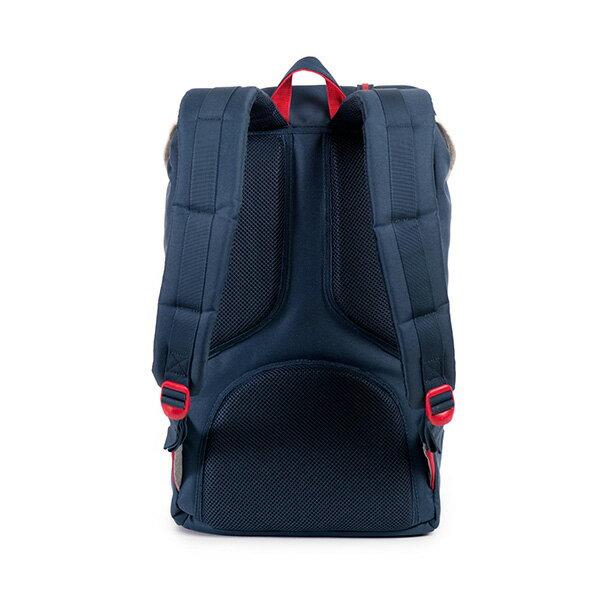【EST】HERSCHEL LITTLE AMERICA 15吋電腦包 後背包 藍紅 [HS-0014-725] F0810 3