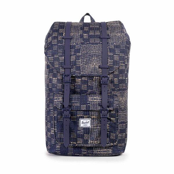 【EST】HERSCHEL LITTLE AMERICA 15吋電腦包 後背包 拼布 [HS-0014-865] F1019 0