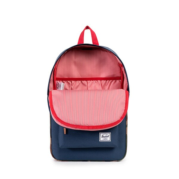 【EST】HERSCHEL HERITAGE MID 中款 豬鼻 13吋電腦包 後背包 迷彩 藍紅 [HS-0019-875] F1019 1