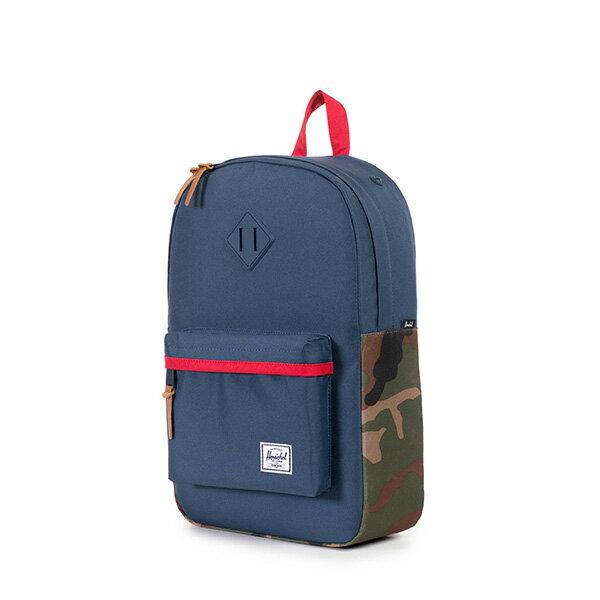 【EST】HERSCHEL HERITAGE MID 中款 豬鼻 13吋電腦包 後背包 迷彩 藍紅 [HS-0019-875] F1019 2