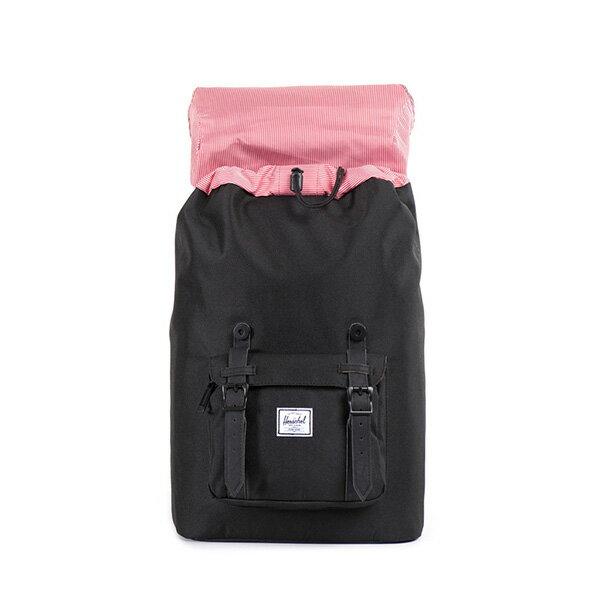 【EST】HERSCHEL LITTLE AMERICA MID 中款 13吋電腦包 後背包 黑 [HS-0020-535] F0810 1