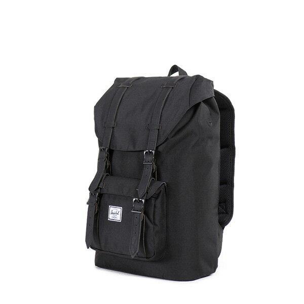 【EST】HERSCHEL LITTLE AMERICA MID 中款 13吋電腦包 後背包 黑 [HS-0020-535] F0810 2