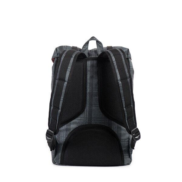 【EST】HERSCHEL LITTLE AMERICA MID 中款 13吋電腦包 後背包 格紋 黑 [HS-0020-754] F0810 3