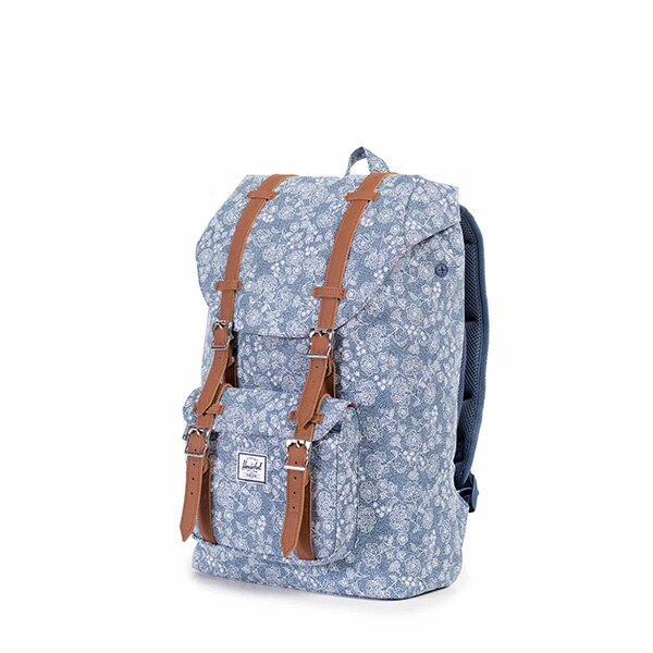 【EST】HERSCHEL LITTLE AMERICA MID 中款 13吋電腦包 後背包 PU 印花 [HS-0020-874] F1019 2