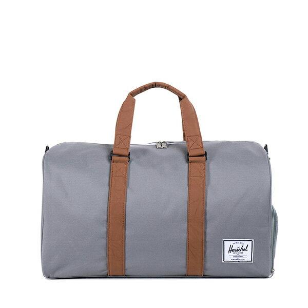 【EST】Herschel Novel 圓筒 多功能 鞋箱 手提袋 旅行袋 灰 [HS-0026-061] F0810 0