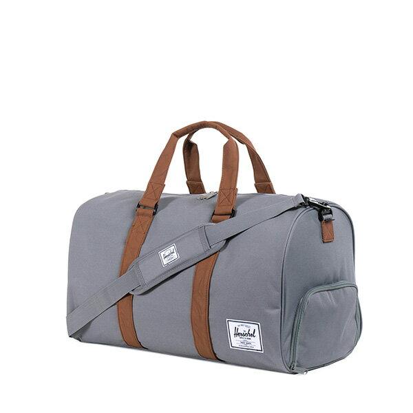 【EST】Herschel Novel 圓筒 多功能 鞋箱 手提袋 旅行袋 灰 [HS-0026-061] F0810 1