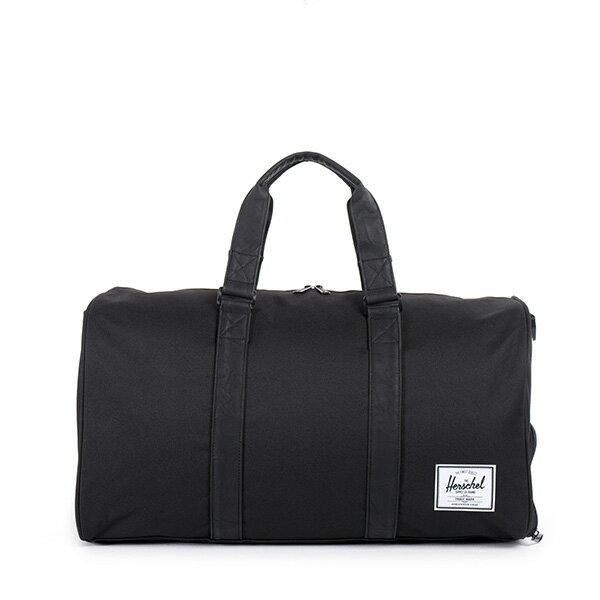 【EST】Herschel Novel 圓筒 多功能 鞋箱 手提袋 旅行袋 黑 [HS-0026-535] F0810 0