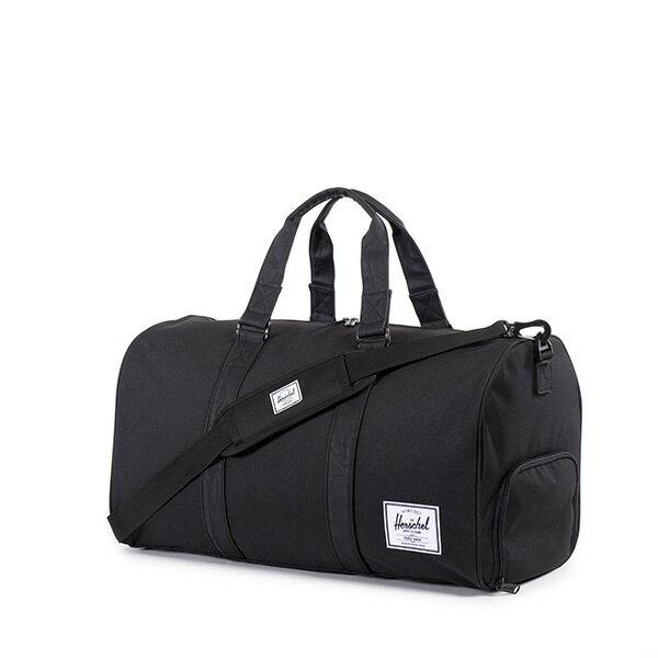 【EST】Herschel Novel 圓筒 多功能 鞋箱 手提袋 旅行袋 黑 [HS-0026-535] F0810 1