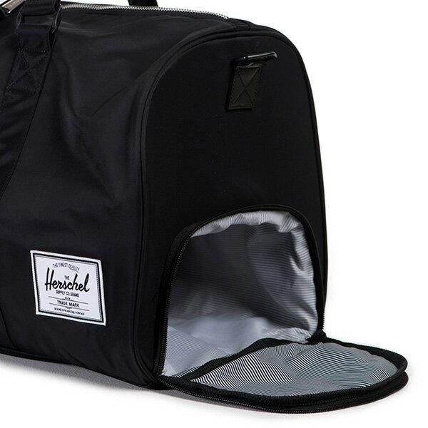 【EST】HERSCHEL NOVEL 圓筒 多功能 鞋箱 手提袋 旅行袋 尼龍 黑 [HS-0026-727] F0810 2