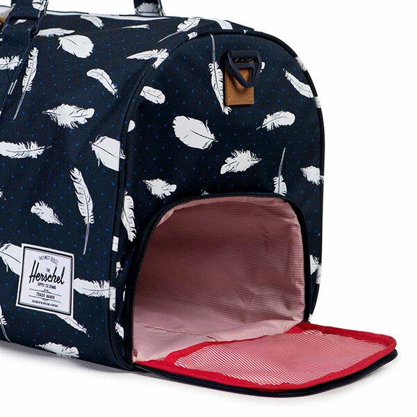 【EST】HERSCHEL NOVEL 圓筒 多功能 鞋箱 手提袋 旅行包 羽毛 藍 [HS-0026-760] F0810 2