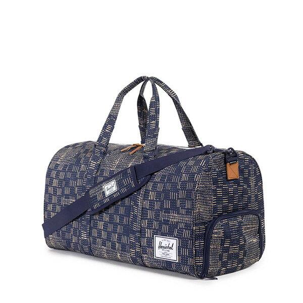 【EST】HERSCHEL NOVEL 圓筒 多功能 鞋箱 手提袋 旅行包 拼布 [HS-0026-865] F1019 1