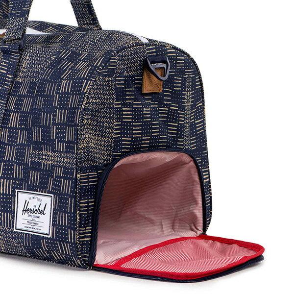 【EST】Herschel Novel 圓筒 多功能 鞋箱 手提袋 旅行袋 拼布 [HS-0026-865] F1019 2