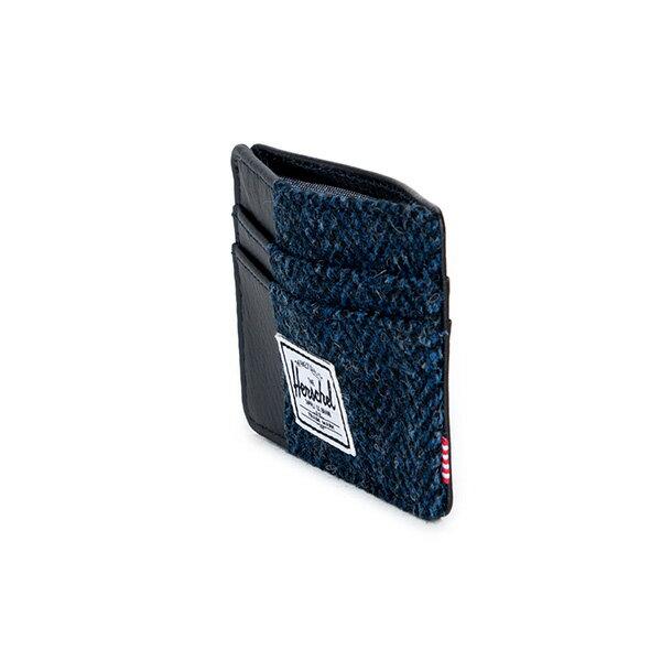 【EST】Herschel Charlie 橫式 卡夾 名片夾 證件套 人字紋 藍 [HS-0045-878] F1019 3