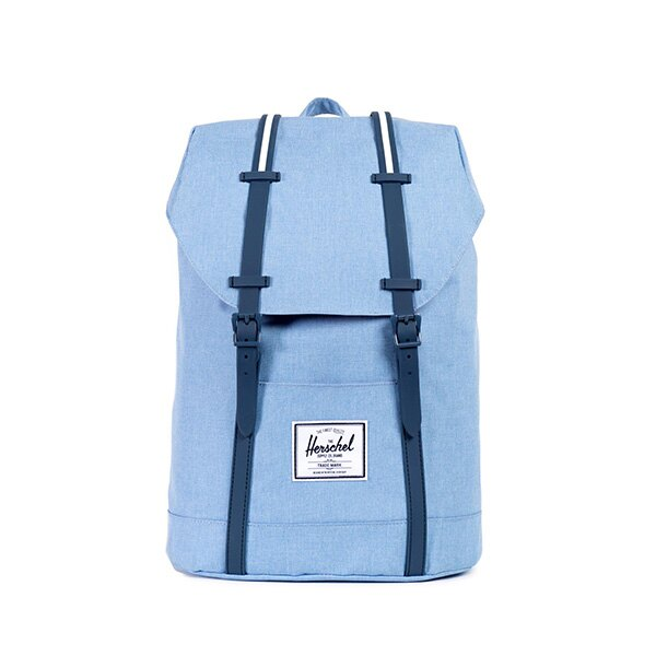 【EST】HERSCHEL RETREAT 15吋電腦包 後背包 淺藍 [HS-0066-730] F0810 0