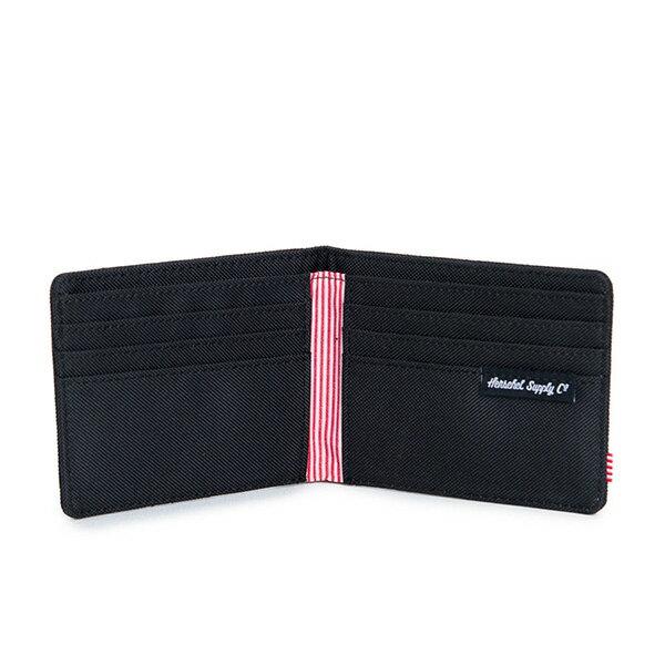 【EST】HERSCHEL ROY WALLET 短夾 皮夾 錢包 菱格紋 黑 [HS-0069-866] F1019 2