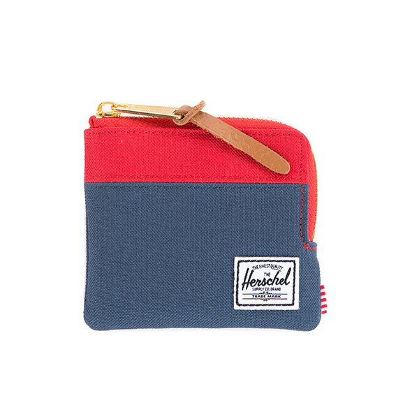 【EST】HERSCHEL JOHNNY WALLET 小皮夾 零錢包 藍紅 [HS-0094-018] F1019 0