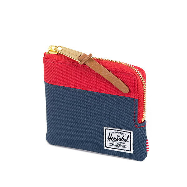 【EST】HERSCHEL JOHNNY WALLET 小皮夾 零錢包 藍紅 [HS-0094-018] F1019 1