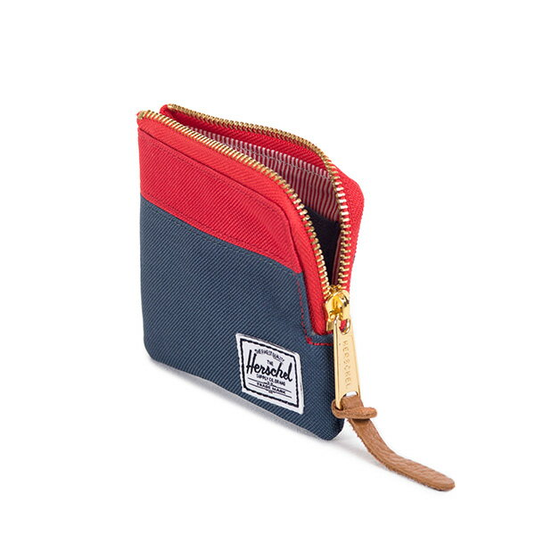 【EST】HERSCHEL JOHNNY WALLET 小皮夾 零錢包 藍紅 [HS-0094-018] F1019 2