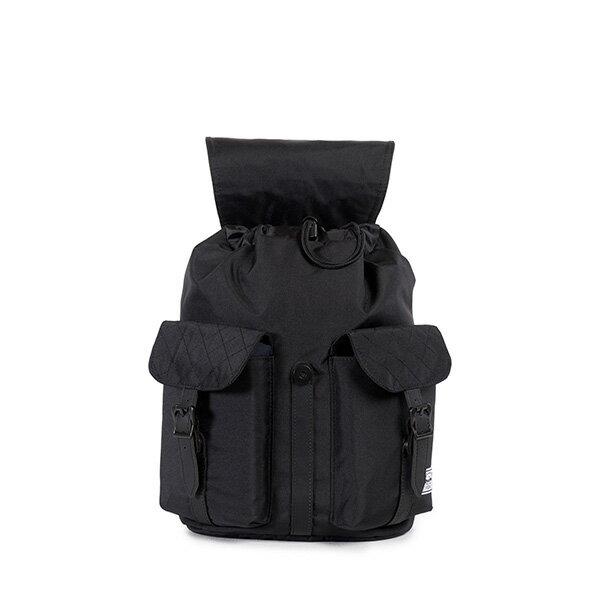 【EST】Herschel Dawson Wmns 女款 束口 雙口袋 後背包 菱格紋 黑 [HS-0210-866] F1019 1