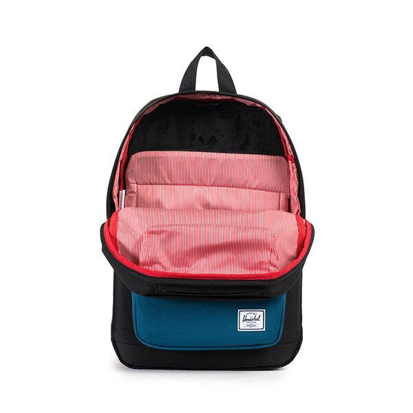 【EST】HERSCHEL POP QUIZ MID 中款 13吋電腦包 後背包 黑藍 [HS-0211-869] F1019 1
