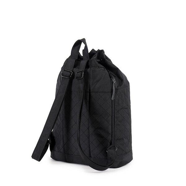【EST】Herschel Hanson 束口 水桶包 後背包 菱格紋 黑 [HS-0214-866] F1019 3