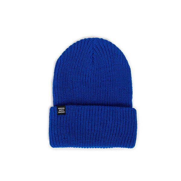 【EST】HERSCHEL QUARTZ 針織 反摺 毛帽 寶藍 [HS-1003-079] F0819 - 限時優惠好康折扣