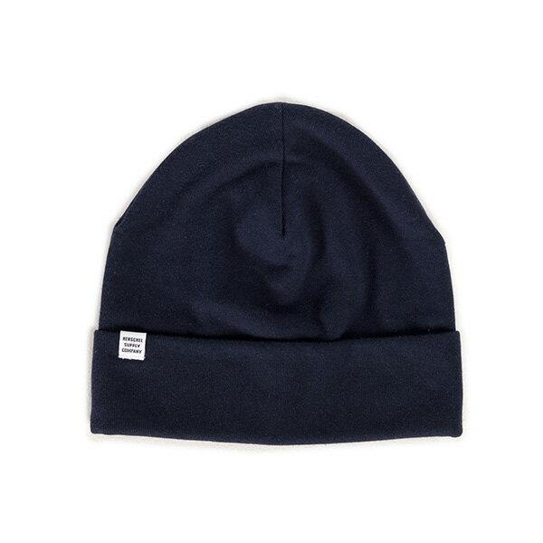 【EST】HERSCHEL ROSSLAND 反摺 毛帽 深藍 [HS-1004-004] F0819 - 限時優惠好康折扣